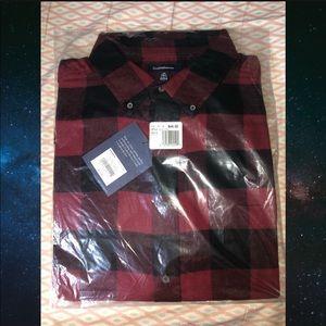 NWT Croft & Barrow Flannel Shirt - Size XL Tall